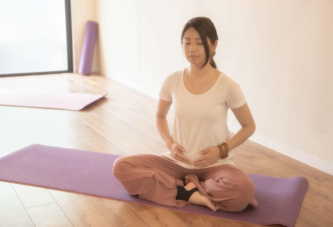 心と体のバランスを整えるヨガの呼吸法