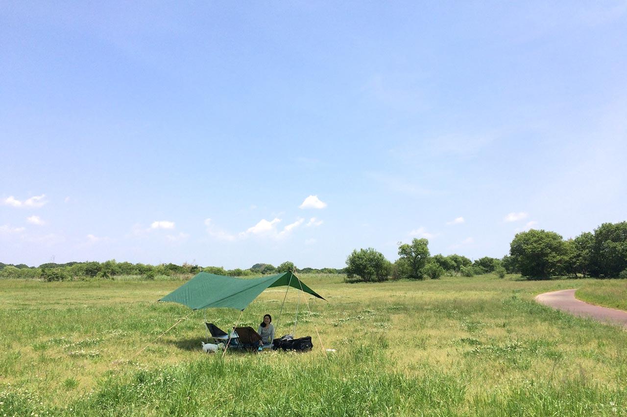 自然の中でリラックスして過ごしたマタニティ期のキャンプ