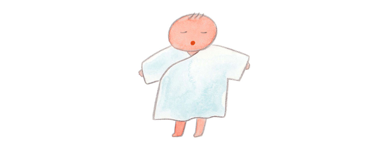 イラストレーターBoojilの育児絵日記・赤ちゃんとわたし「妊娠と出産は神秘体験」