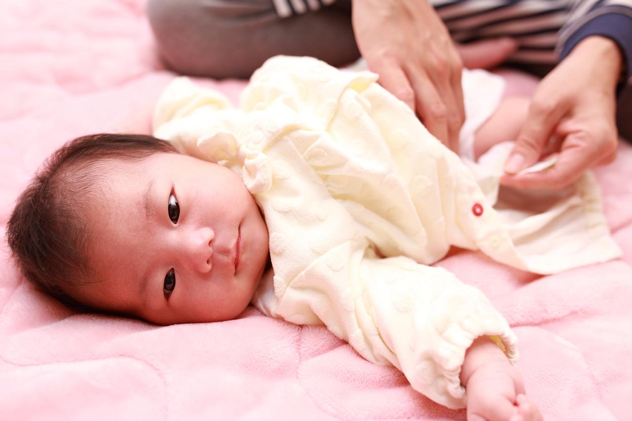 敏感な赤ちゃんの肌の為に♪おむつ替えの時に気を付けたいこと